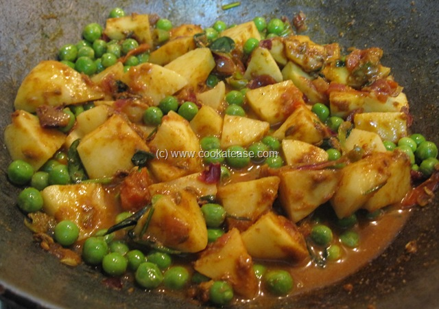 Green Peas Stir Fry With Chaat Masala Recipes — Dishmaps