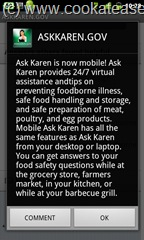Ask_Karen_Food_Safety_Free_Application_Android_Smartphone_1