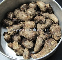 Oil_Free_Grilled_Taro_Colocasia_2