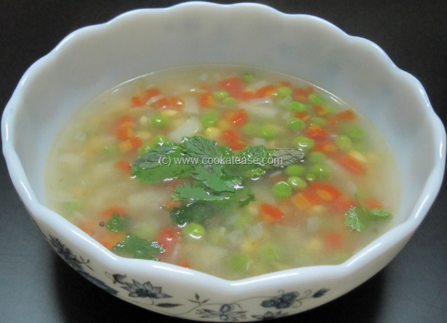 Clear soup recipes with images
