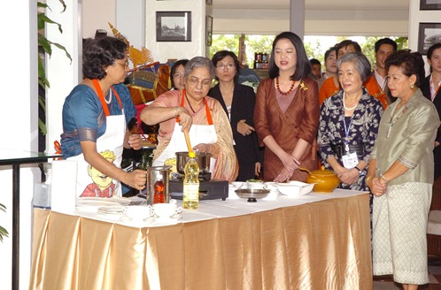 Demonstration Cooking cooking demonstrationspouses of asean leaders