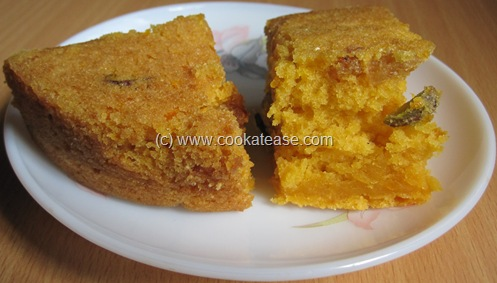 Eggless_Orange_Raisin_Pistachio_Cake_19