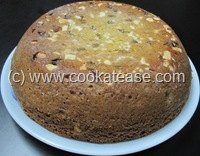 Eggless_Kaju_Kismis_Cake