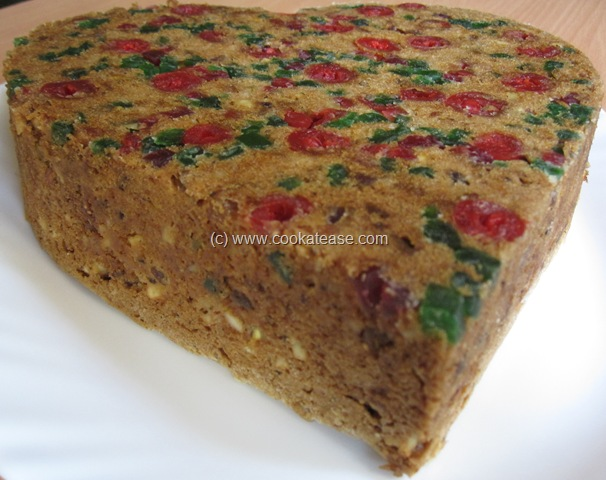 Tropical Fruit And Nut Cake
