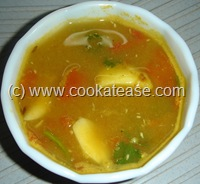 Poondu_Garlic_Rasam