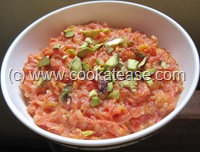 Gajar_Carrot_Halwa_Microwave_Cooking