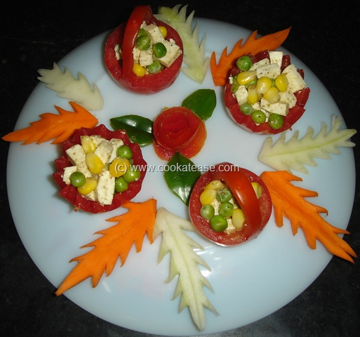 Salad+decoration+video