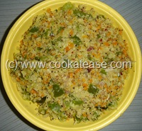 Cabbage_Carrot_Capsicum_Poriyal