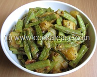 Cluster_Beans_Potato_Stir_Fry