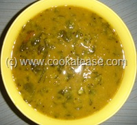 Vendhaya_Keerai_Fenugreek_Leaves_Kuzhambu
